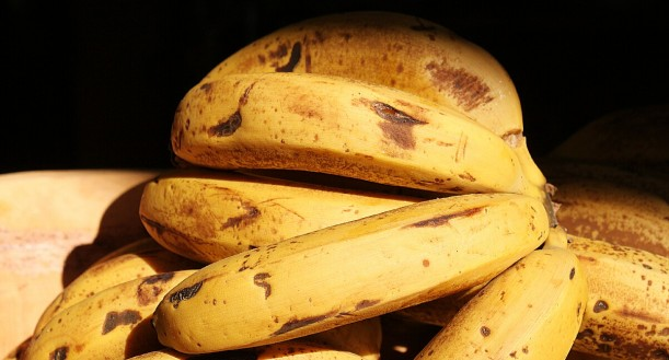 Over-ripe bananas can be prepared in many tasty ways.
