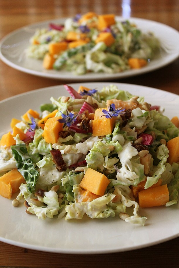 North African-inspired Coleslaw.