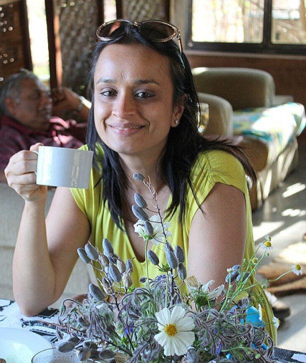 Preeti Parbhoo, the organizer of the gathering.