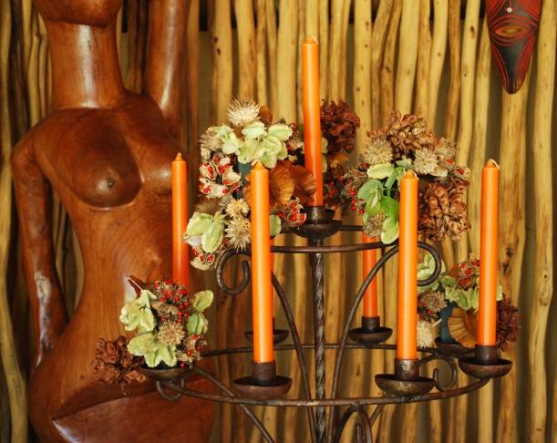 Bush candles.
