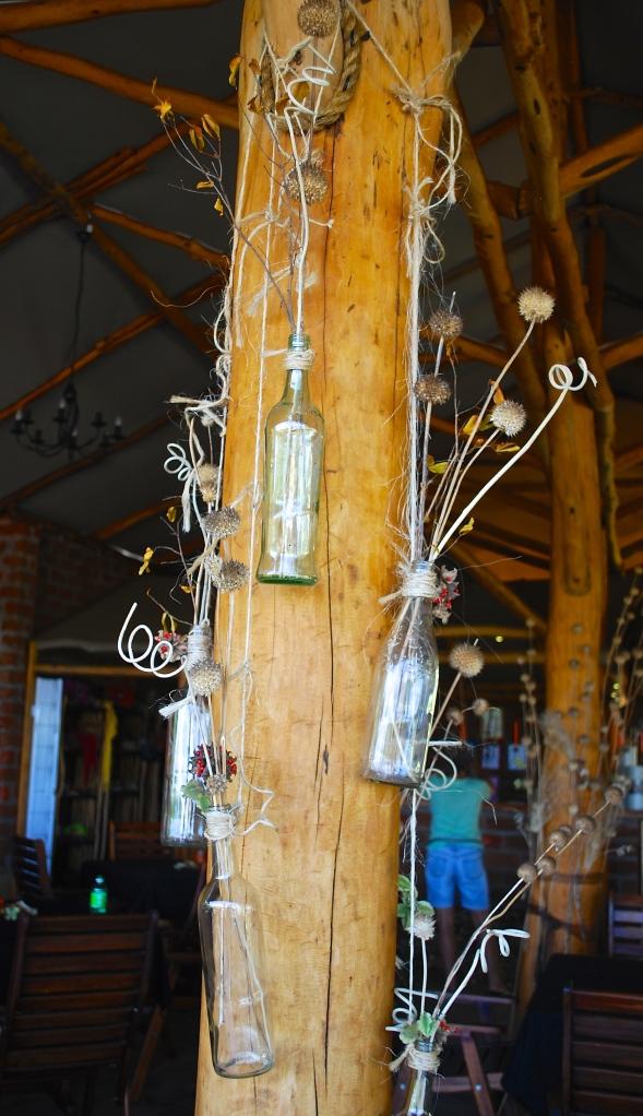 Bush bottles.