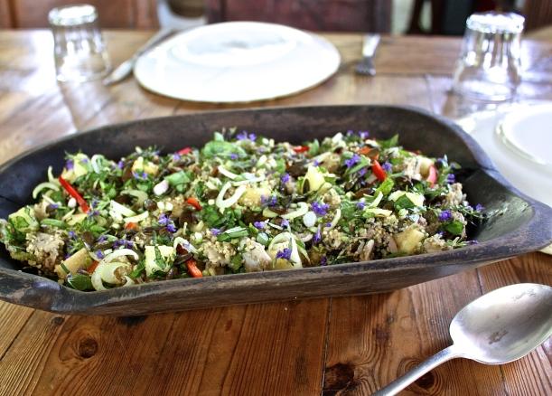 A Sacred Salad.