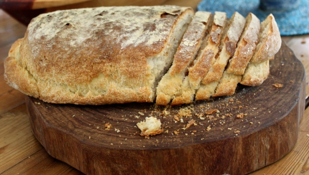 Our much-loved ciabatta bread.