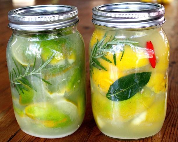 Preserved Lemons & Limes.